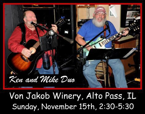 Ken and Mike Duo 11-15-15