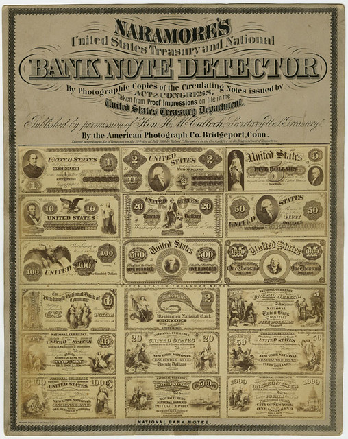 Naramore's Bank Note Drtector