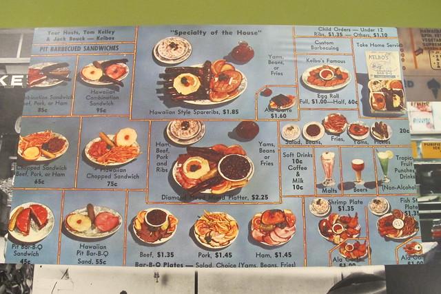 Kelbo's menu