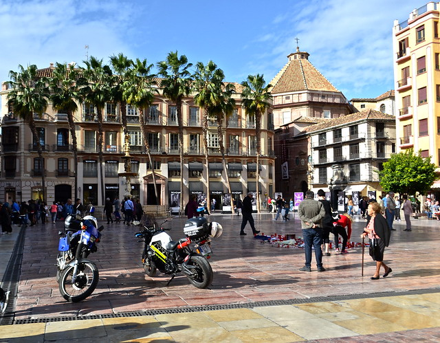 constitution plaza - Bike City Tour of Malaga, Costa Del Sol