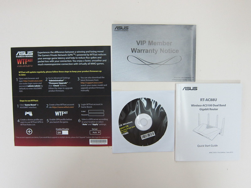 Asus RT-AC88U Router - Booklets