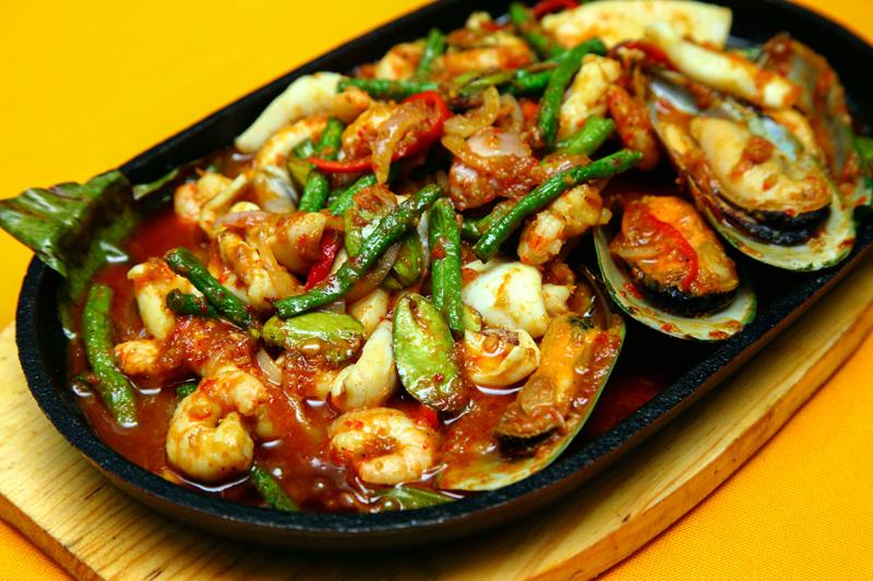 Crab Sifu Seafood Hot Plate