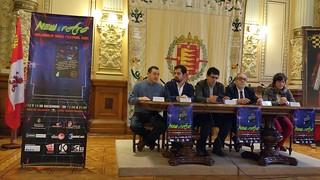 NEW & RETRO Valladolid Game Festival 2015. Rueda de Prensa.