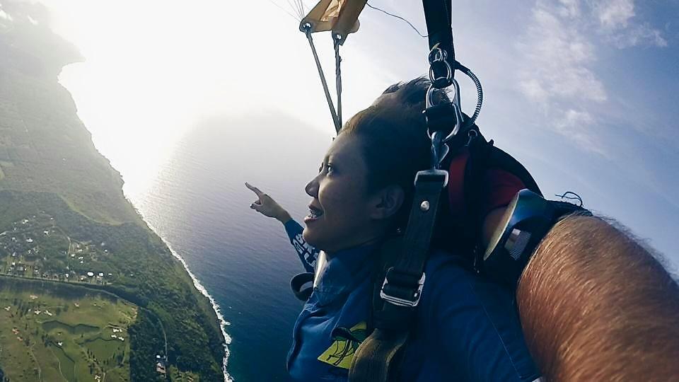 guam travel blog skydive