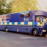 Lancashire Police horse transport