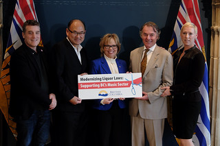 The Province is modernizing B.C. liquor laws and cutting red tape for businesses by simplifying the application process for festivals, concerts and other cultural events.