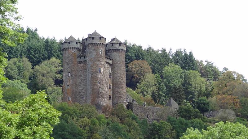 France (Cantal)-Château d'Anjony