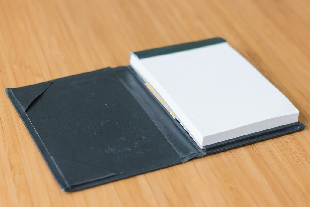ロディア ハードカバー メモ帳を装着してみた