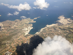 Malta from the air