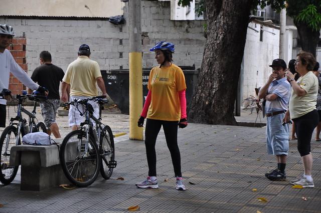 Passeio ciclístico maio amarelo