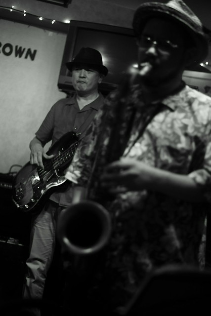 Blues live at Bright Brown, Tokyo, 16 Aug 2015. 299