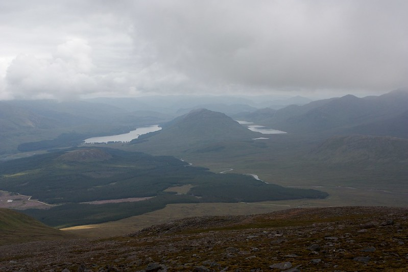 Laggan and Ardverickie from Chno Dearg