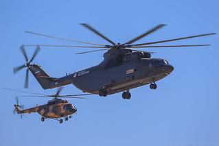 Mi-26T2 and Mi-17V-5 (Mi-8MTV-5))
