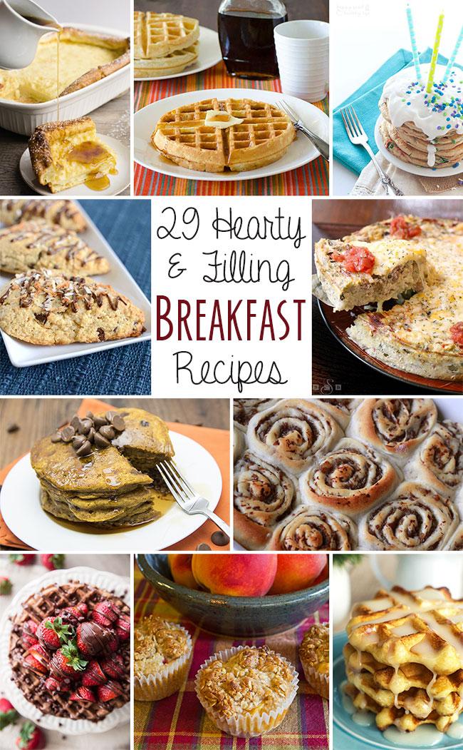twentynine amazing breakfast recipes