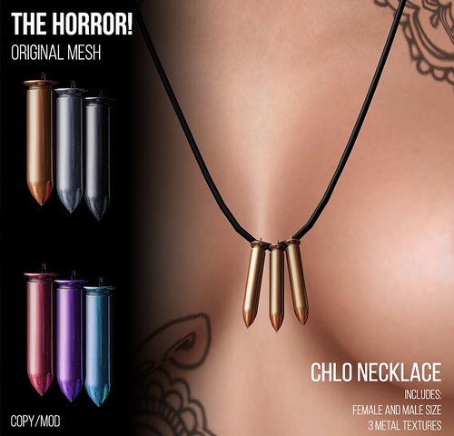 The Horror!~ Chlo Necklace @Suicide Dollz