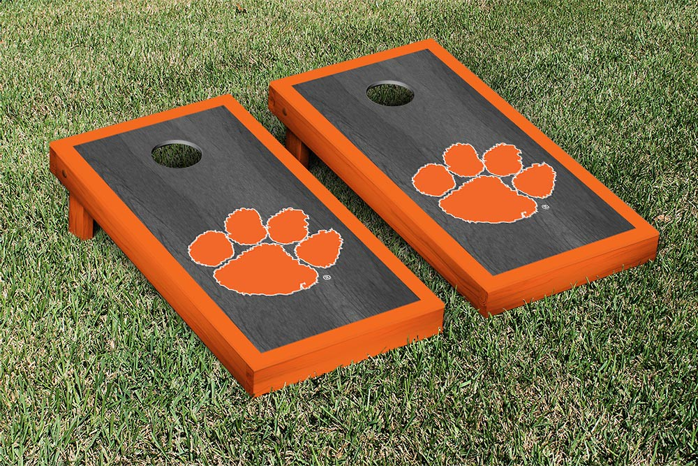 Clemson Tigers Onyx Stained Border Version