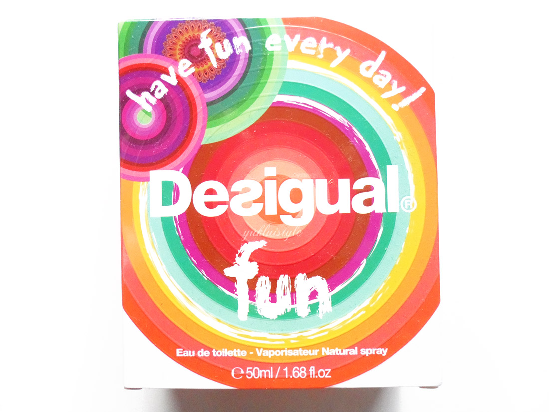 Desigual Fun Perfume review