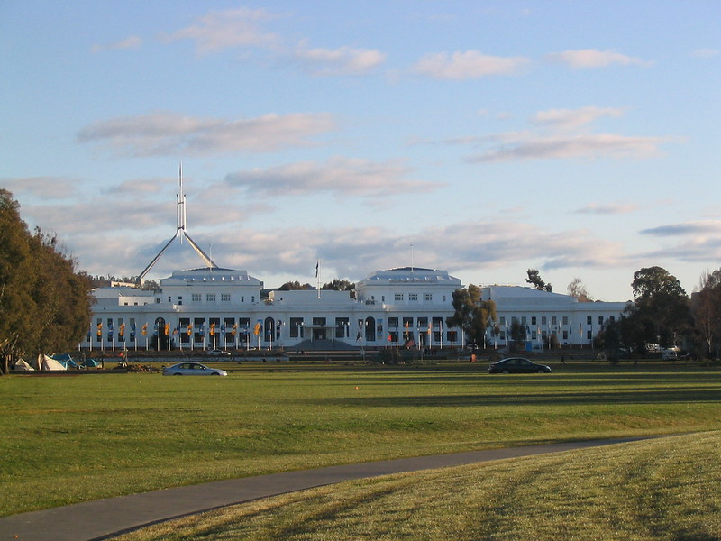 Old Parliament House, Canberra, August 2005
