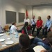 Achim Barchmann während der Diskussion beim Sommercamp der Jusos des Bezirks Braunschweig