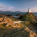 llanddwyn island Lighthouse by shaunyoung365