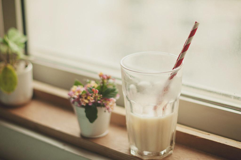 Day 229.365 - Iced Milk Green Tea