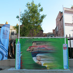 Today`s street art at Kimbrose Triangle