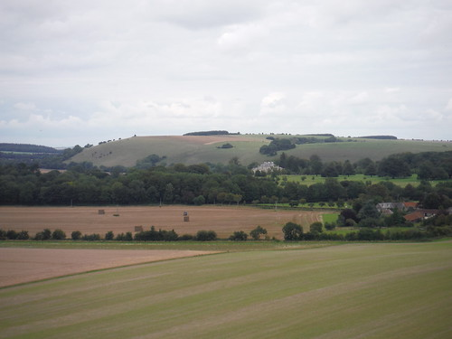 Ferne House and White Sheet Hill