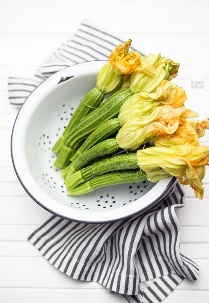 zucchine con fiori