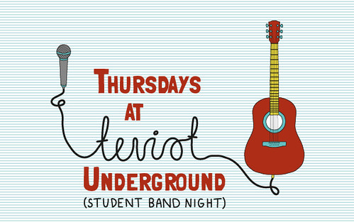 Thursdays at Teviot Undergound