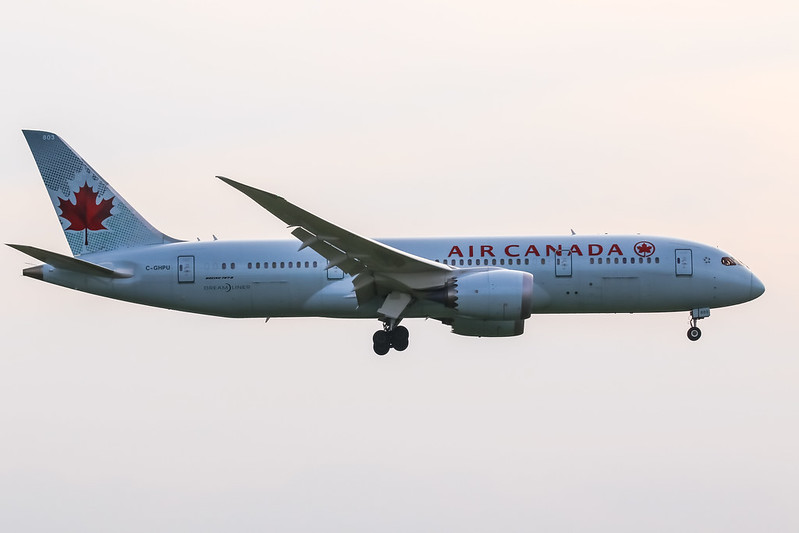 C-GHPU Boeing 787-8 Dreamliner Air Canada