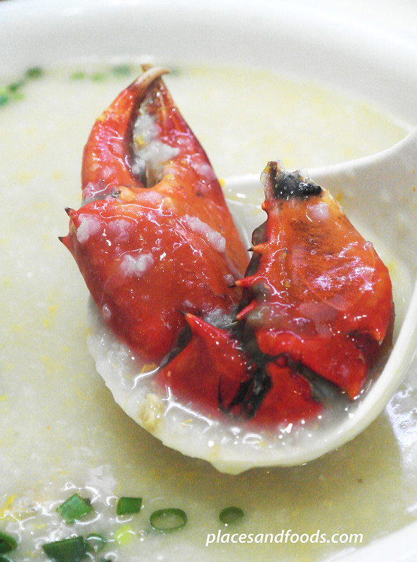 macau top 12 food crab congee