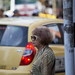 Old woman in Medellin by yago1.com