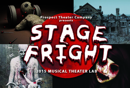 STAGE FRIGHT Postcard With Year Brighter