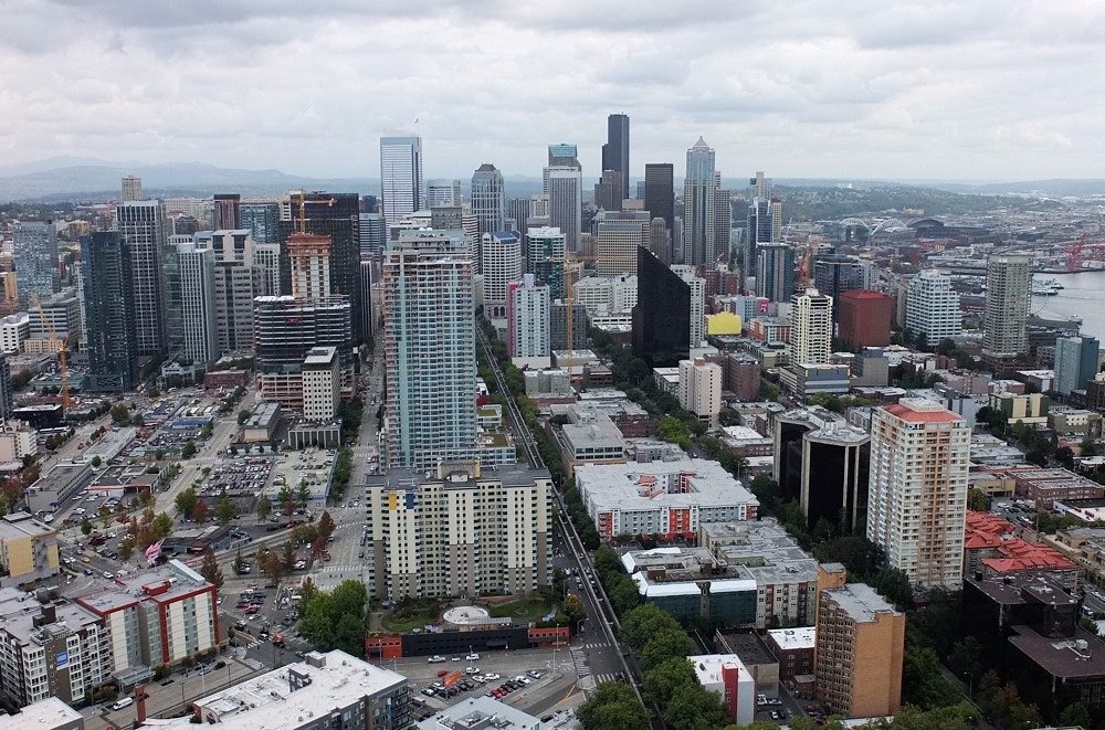 Space Needle View of Seattle