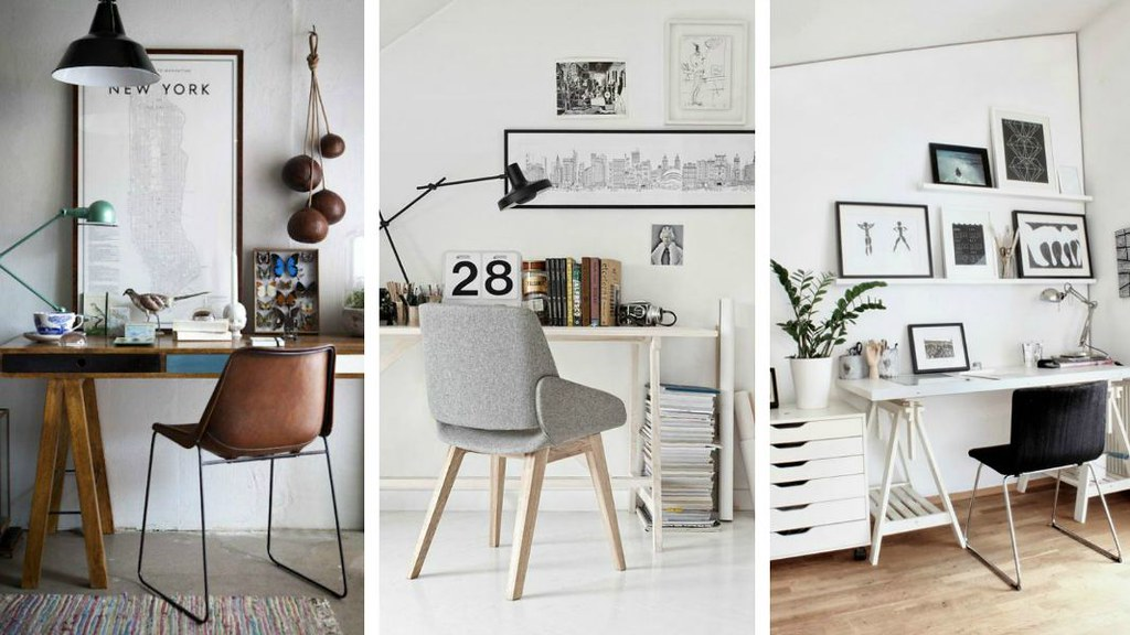 Pinterest Inspiration | Workspace| A Hint of Rose | In this post, I share with you some of my