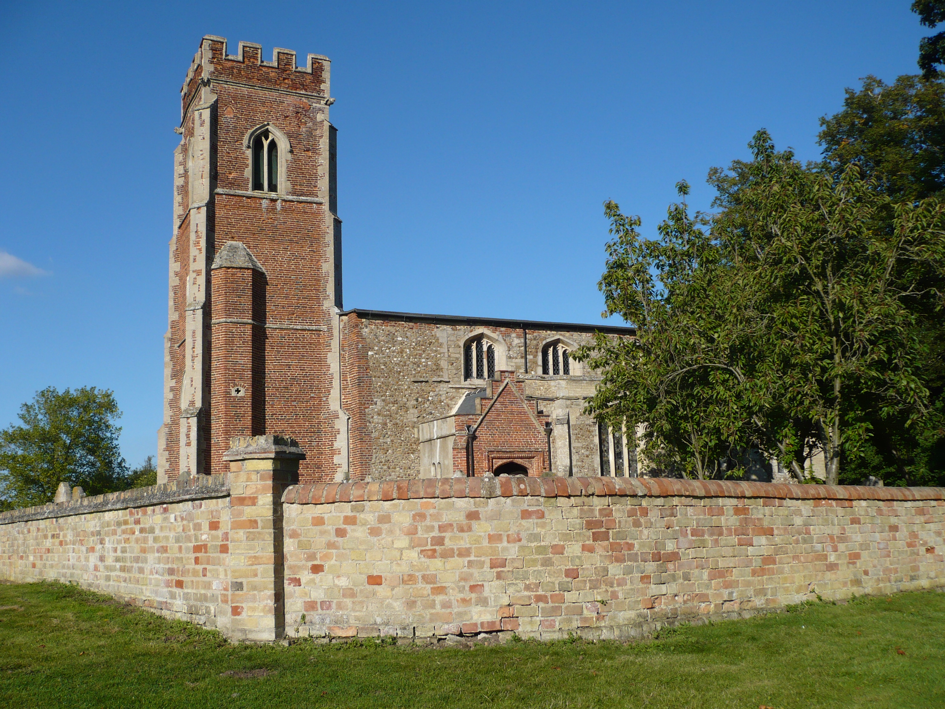 St Laurence's Church, Diddington, Cambridgeshire