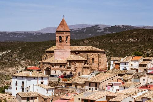 Aranda de Moncayo, vista de la iglesia