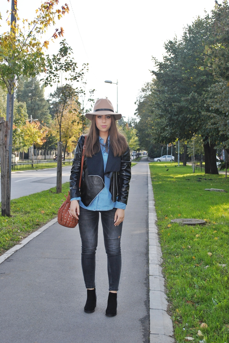 denim-shirt-leather-jacket1