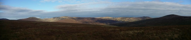 Great Calva fells panorama #sh