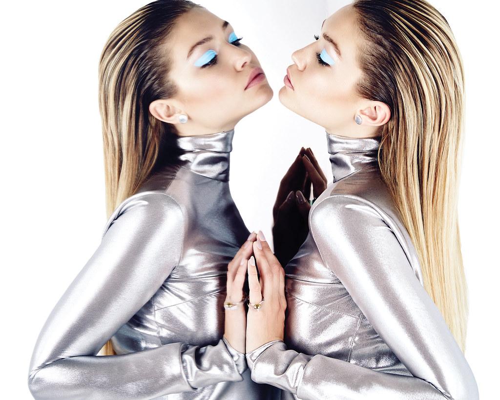 Джиджи Хадид — Фотосессия для «Elle» CA 2015 – 1
