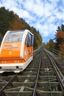 tram to Salzwelten