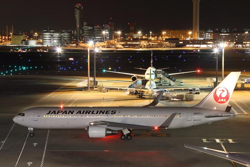 JAL B767-300 JA607J