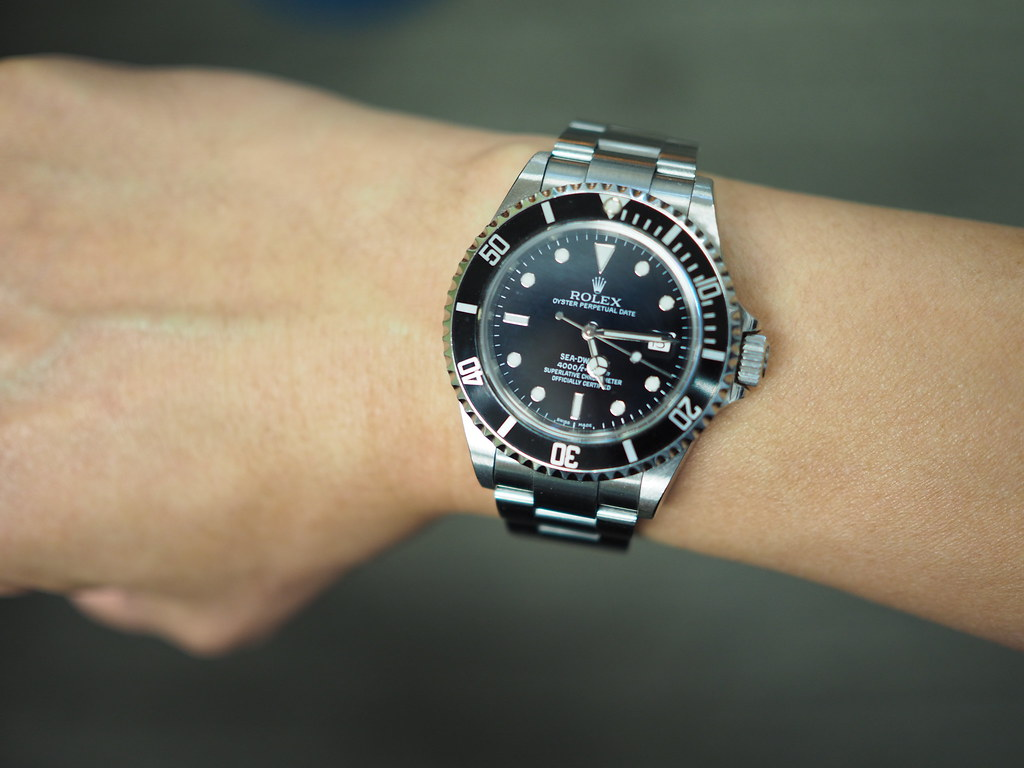 Rolex Submariner 114060 (No Date) - my first Rolex, with a ...