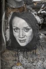Niki de Saint Phalle, painted portrait _DDC9048