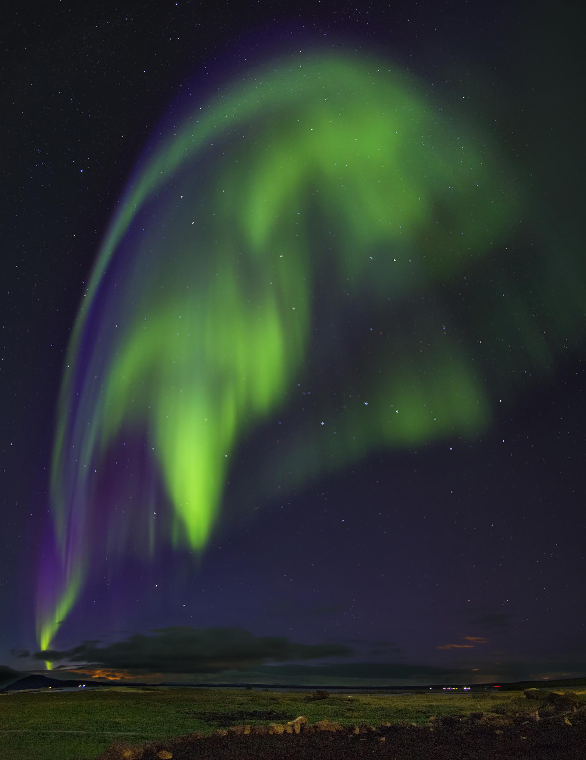 Aurora Borealis in Akureyri