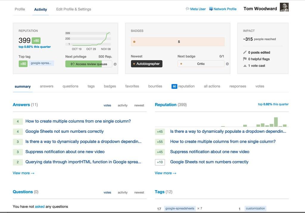 web app dashboard