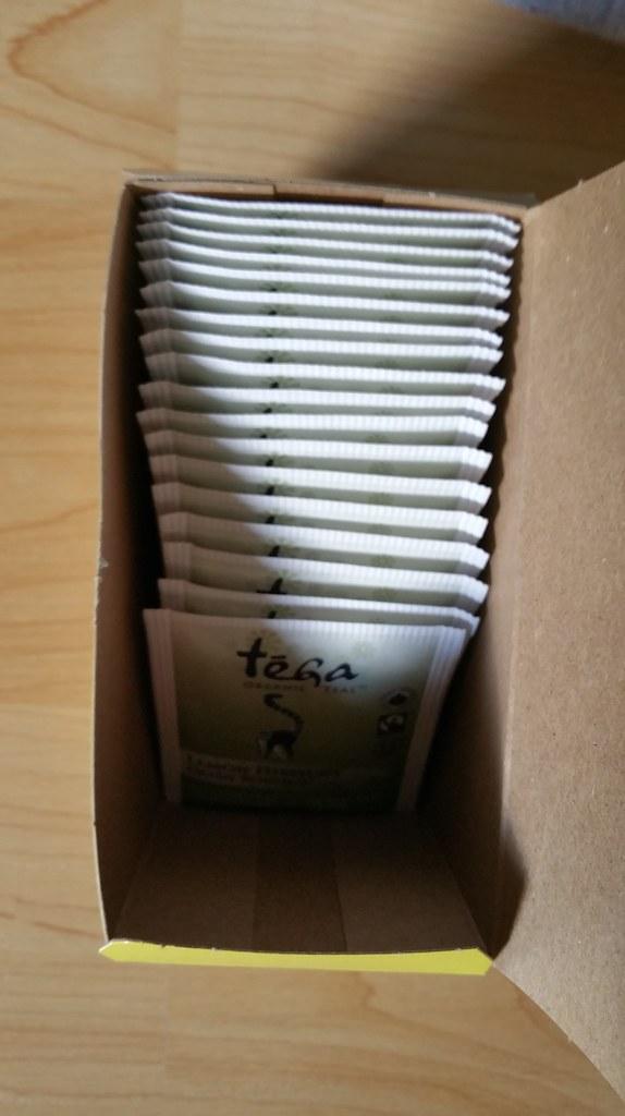 Tega Organic Tea - Lemon Hibiscus Green Rooibos 5