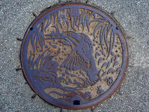 Kiyomi Gifu, manhole cover (岐阜県清見村のマンホール)