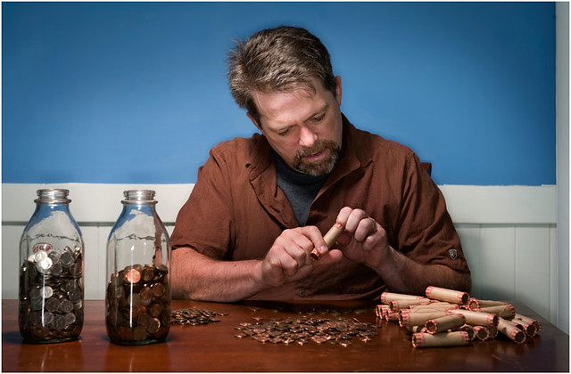 [J.D., Counting His Money]