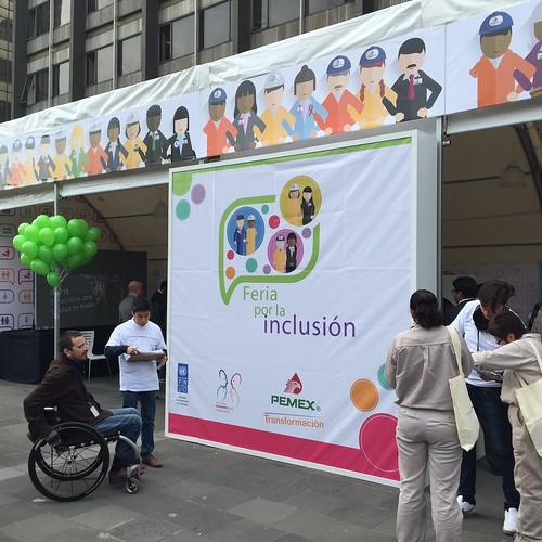 Primera Feria por la Inclusión PEMEX - PNUD